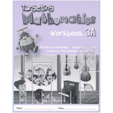 Singapore Maths Primary Level - Targeting Mathematics Workbook 3A - ISBN 9789814448529