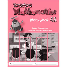Singapore Maths Primary Level - Targeting Mathematics Workbook 4A - ISBN 9789814448987