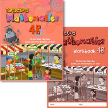 Singapore Maths Primary Level - Targeting Maths 4B (Class Pack of 20 Textbooks & 20 Workbooks) - ISBN 9780190757069
