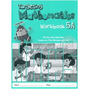 Singapore Maths Primary Level - Targeting Mathematics Workbook 5A - ISBN 9789814658317