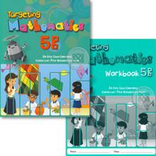 Singapore Maths Primary Level - Targeting Maths 5B (Class Pack of 20 Textbooks & 20 Workbooks) - ISBN 9780190757083
