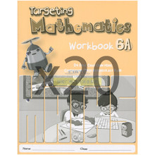 Singapore Maths Primary Level - Targeting Maths 6A (Class Pack of 20 Workbooks) - ISBN 9780190757212