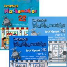 Singapore Maths Primary Level - Targeting Mathematics 2B (20 Textbooks & 20 each Part 1 & Part 2 Workbook Class Pack) - ISBN 9780190757021