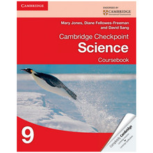 Cambridge International Checkpoint Science Coursebook 9 - ISBN 9781107626065