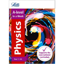 Collins Letts A Level Revision Success - A Level Physics Year 1 (and AS) In a Week - ISBN 9780008179106