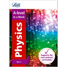 Collins Letts A Level Revision Success - A Level Physics Year 2 In a Week - ISBN 9780008179113