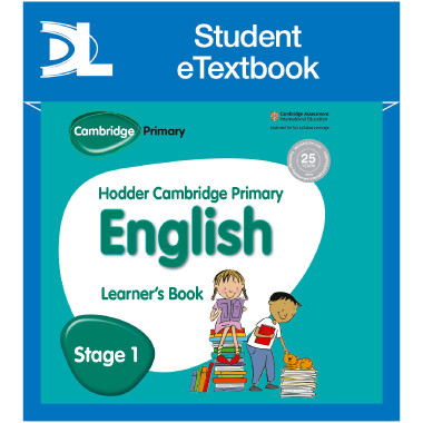 Hodder Cambridge Primary English: Learner's Book Stage 1 Student eTextbook - ISBN 9781398314863