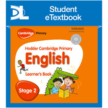 Hodder Cambridge Primary English: Learner's Book Stage 2 Student eTextbook - ISBN 9781398314887
