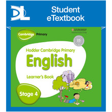 Hodder Cambridge Primary English: Learner's Book Stage 4 Student e-Textbook - ISBN 9781398315754