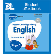 Hodder Cambridge Primary English: Learner's Book Stage 6 Student e-Textbook - ISBN 9781398315778