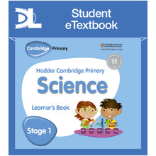 Hodder Cambridge Primary Science Learner's Book 1 Student e-Textbook - ISBN 9781398315952