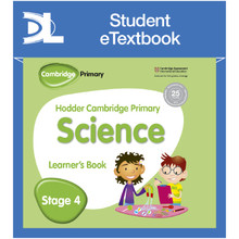 Hodder Cambridge Primary Science Learner's Book 4 Student e-Textbook - ISBN 9781398315983