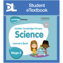 Hodder Cambridge Primary Science Learner's Book 5 Student e-Textbook - ISBN 9781398315990