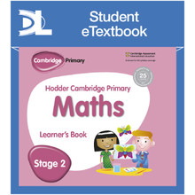 Hodder Cambridge Primary Maths Learner's Book 2 Student e-Textbook - ISBN 9781398315846