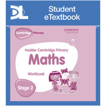 Hodder Cambridge Primary Maths Workbook 2 Student e-Textbook - ISBN 9781398315907