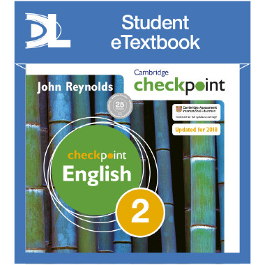 Cambridge Checkpoint English Student's Book 2 Student eTextbook - ISBN 9781398314979