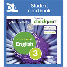 Cambridge Checkpoint English Student's Book 3 Student eTextbook - ISBN 9781398315051