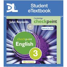 Cambridge Checkpoint English Workbook 3 Student eTextbook - ISBN 9781398315068