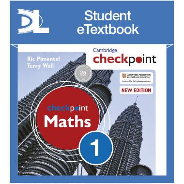 Hodder Cambridge Checkpoint Maths Student's Book 1 Student eTextbook - ISBN 9781398315099