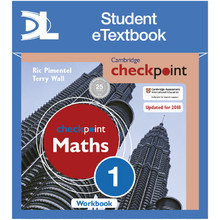 Hodder Cambridge Checkpoint Maths Workbook 1 Student e-Textbook - ISBN 9781398315204