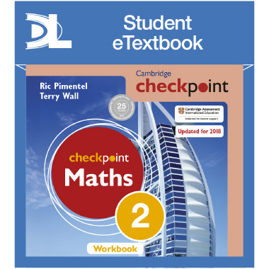 Hodder Cambridge Checkpoint Maths Workbook 2 Student e-Textbook - ISBN 9781398315440