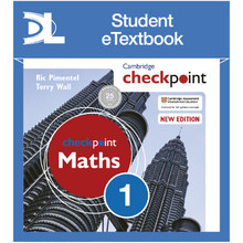 Hodder Cambridge Checkpoint Maths Student's Book 1 Student eTextbook - ISBN 9781398315099