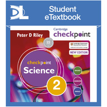 Hodder Cambridge Checkpoint Science Student's Book 2 Student e-Textbook - ISBN 9781398315655