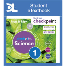 Hodder Cambridge Checkpoint Science Student's Book 1 Student e-Textbook - ISBN 9781398315648
