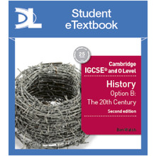 Hodder Cambridge IGCSE and O Level History 2nd Edition Student e-Textbook - ISBN 9781510420045