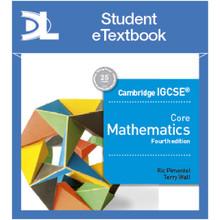 Hodder Cambridge IGCSE Core Mathematics 4th edition Student Etextbook - ISBN 9781510420595