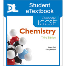 Hodder Cambridge IGCSE Chemistry 3rd Edition Student eTextbook - ISBN 9781471840524