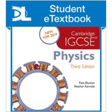 Hodder Cambridge IGCSE Physics 3rd Edition Student eTextbook - ISBN 9781471840531