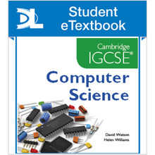 Hodder Cambridge IGCSE Computer Science Student eTextbook - ISBN 9781471809347