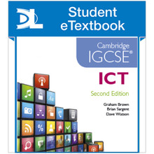 Hodder Cambridge IGCSE ICT 2nd Edition Student eTextbook - ISBN 9781471840548