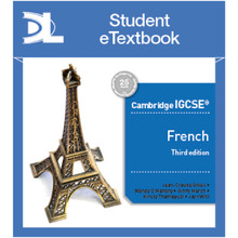 Hodder Cambridge IGCSE™ French Third Edition Boost Student eTextbook - ISBN 9781510448704