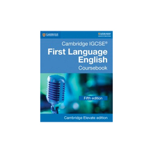 Cambridge IGCSE First Language English Coursebook Cambridge Elevate Edition (2 Years) - ISBN 9781108438902