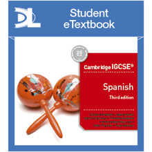 Hodder Cambridge IGCSE™ Spanish Third Edition Student Etextbook - ISBN 9781510448711