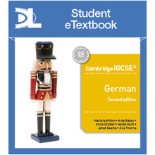 Hodder Cambridge IGCSE™ German Second Edition Student Etextbook - ISBN 9781510448728