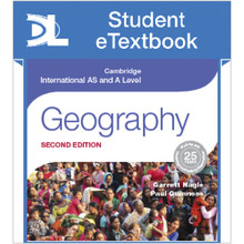 Hodder Cambridge International AS and A Level Geography 2nd Edition Student Etextbook - ISBN 9781471868597
