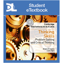 Hodder Cambridge International AS & A Level Thinking Skills Student Etextbook - ISBN 9781510422230