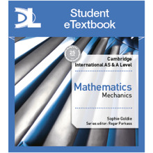 Hodder Cambridge International AS & A Level Mathematics Mechanics Student Etextbook - ISBN 9781510420953