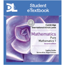 Hodder Cambridge International AS & A Level Mathematics Pure Mathematics 1 Student Etextbook - ISBN 9781510420762
