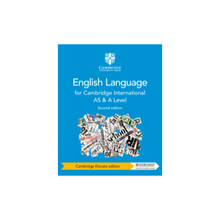 Cambridge International AS and A Level English Language Coursebook Cambridge Elevate Edition (2 Years) - ISBN 9781108455831