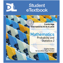 Hodder Cambridge International AS & A Level Mathematics Probability and Statistics 2 Student Etextbook - ISBN 9781510421158