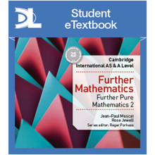 Hodder Cambridge International AS & A Level Further Mathematics Further Pure Mathematics 2 Student Etextbook - ISBN 9781510422063