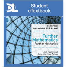 Hodder Cambridge International AS & A Level Further Mathematics Further Mechanics Student eTextbook - ISBN 9781510422100