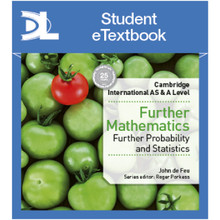 Hodder Cambridge International AS & A Level Further Mathematics Further Probability and Statistics Student Etextbook - ISBN 9781510422148