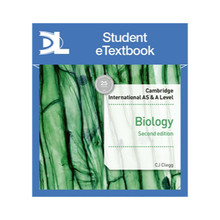 Hodder Cambridge International AS & A Level Biology Student's Book 2nd edition Student eTextbook - ISBN 9781510482913