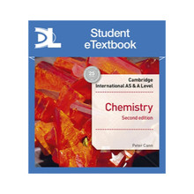Hodder Cambridge International AS & A Level Chemistry Student's Book 2nd edition Student eTextbook - ISBN 9781510482999