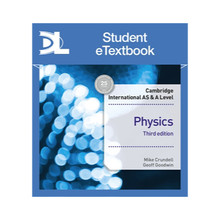 Hodder Cambridge International AS & A Level Physics Student's Book 3rd edition Student eTextbook - ISBN 9781510483118